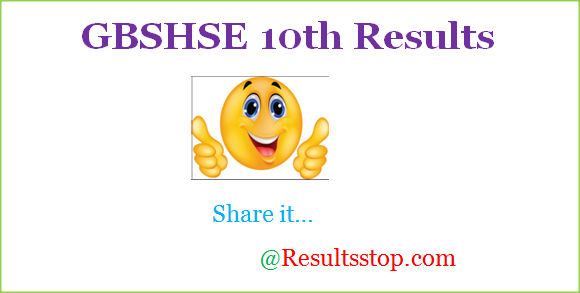 Goa 10th class Results 2018 , goa board ssc result 2018