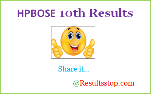 HPBOSE 10th result 2018 , HP Board 10th class result 2018