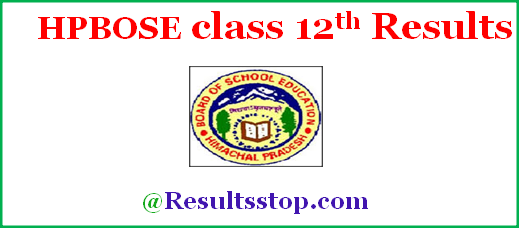 Himachal Pradesh 12th Result 2018 , HPBOSE class 12th result date 2018
