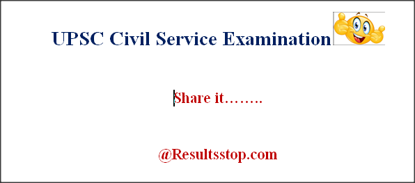 Civil Service Examination