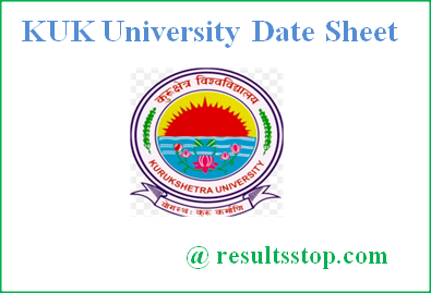 KUK Date Sheet 2018, KUK University Date Sheet 2018,KUK University timetable 2018, Kurukshetra University Time table 2018