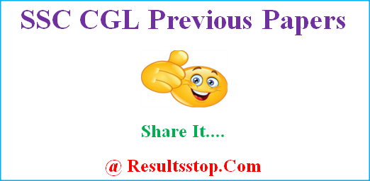SSC CGL Previous Question Papers, SSC CGL old Papers with solutions odf
