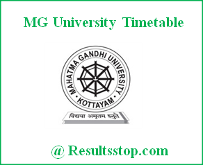 MG University Exam Timetable 2018, MGU Exam Timetable download, www.mgu.ac.in timetable