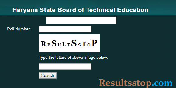 HSBTE Result, HSBTE diploma Result, Haryana polytechnic results