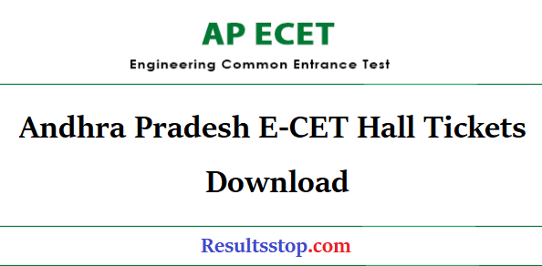 ap ecet hall tickets, ap ecet hall tickets 2019