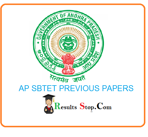AP SBTET Previous papers