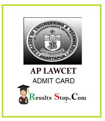 AP LAWCET Hall Ticket