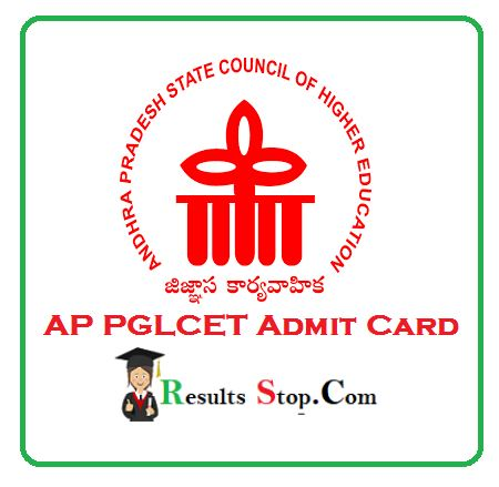AP PGLCET Admit Card
