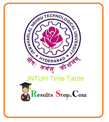 JNTUH 4-2 Time Table