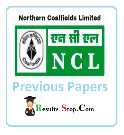 NCL Mining Sirdar Previous Papers