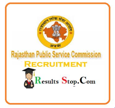 RPSC Physiotherapist Notification 2020