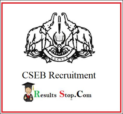 CSEB Kerala Recruitment