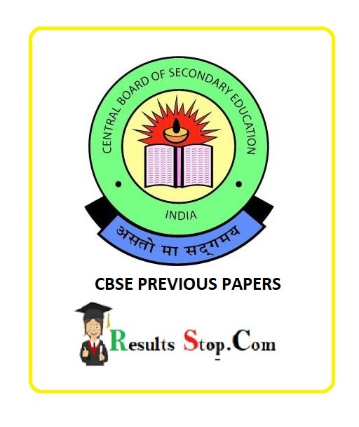 CBSE Previous Papers