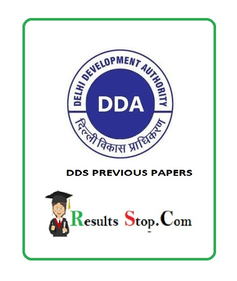 DDS Previous Papers
