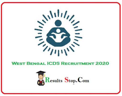 ICDS Recruitment 2020