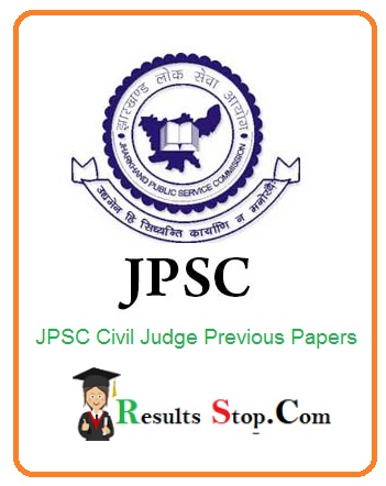 JPSC Civil Judge Previous Papers