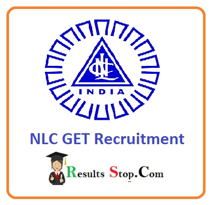 NLC GET Recruitment 2020