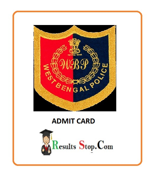 West Bengal Admit Card
