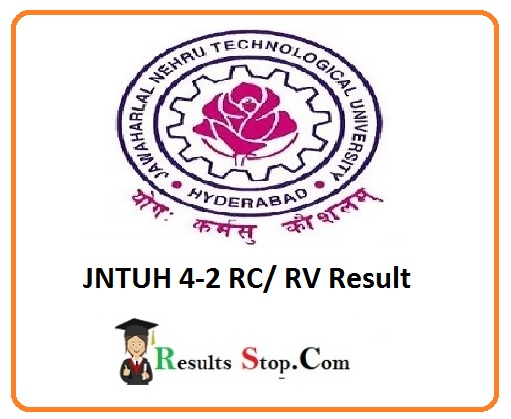 JNTUH 4-2 RC/RV Result