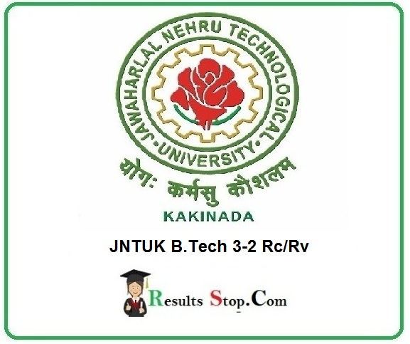JNTUK B.Tech 3-2 Rc/Rv