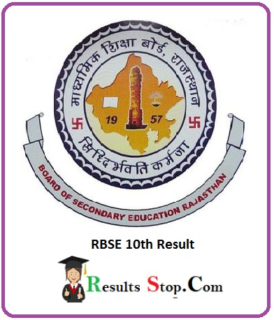 RBSE 10th Result